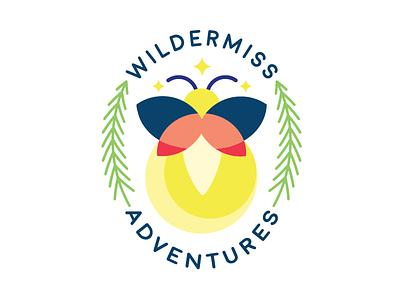 Wildermiss Adventures Logo illustration branding logo