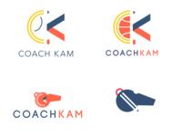 Coach Kam Logo Ideas