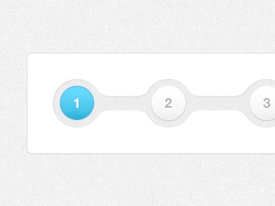SkillPages Progress Tracker Bar progress tracker blue circles 1 2 3 cutout gradient skillpages page cutout