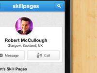 SkillPages Mobile
