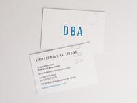 DBA Business Cards
