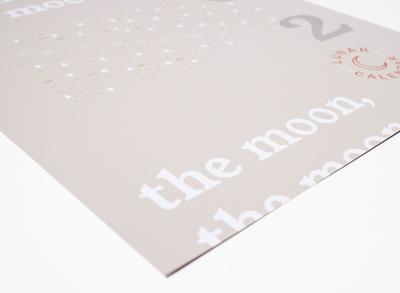 2020 Lunar Calendar –Grey