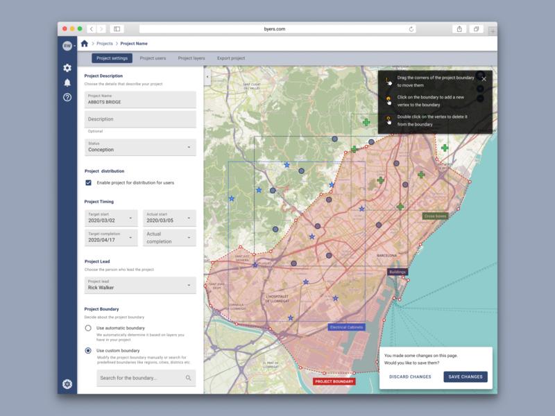 Map creator gis materialdesign ux ui product design data creator map