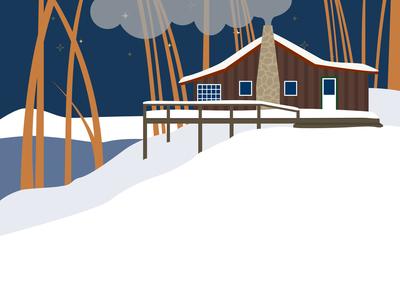 Winter Cabin Escape