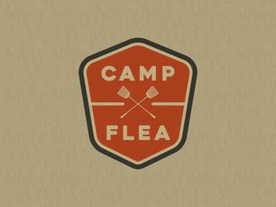 Camp Flea Primary Logo