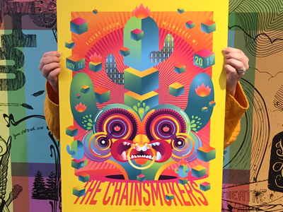 Chainsmokers poster