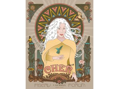 Cher Poster | Fiserv Forum