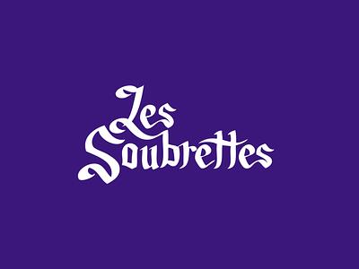 Les Soubrettes | Custom Type brand fashion design feminist feminism women typography adobe illustrator illustration