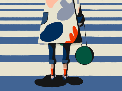 NYC Sightings patterns colors illustration