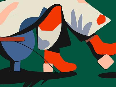 Sunday pattern 🌿🌴 patterns colors illustration