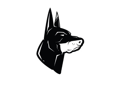 Bat Dog design animal german shepherd doberman joker dc marvel superhero dog batman