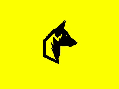 Mal branding animal logo illustrator flat vector illustration design dog german shepherd belgian malinois