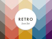 Cover for a Retro Icon Set