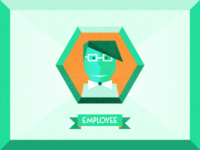A day in the life - Employee Icon