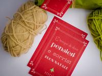 E' tempo di doni - Christmas Postcard