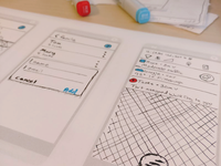 ToDo List Paper Sketch paper prototype ui todo