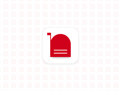 nbox app icon mailbox minimal red gmail apple icons client mail email icon app ios