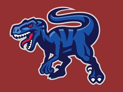 Raptor Mascot dinosaurus microstock sportlogo sport mascot raptor