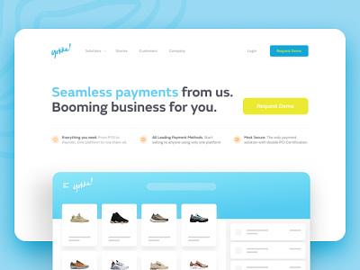 Yokke - New website for leading Indonesian Fintech web design ux ui