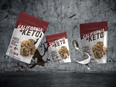 Kalifornia Keto packagingdesign packaging branding healthyfood