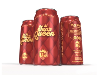 Saaz Queen Czech Pilsner packaging can craft beer beer