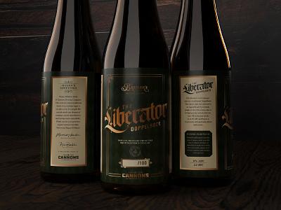 Liberator - Doppelbock Beer Packaging beverage design food packaging bottles beer craft beer