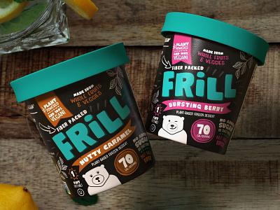 Frill - Frozen Dessert Packaging healthy packaging ice cream dessert food food packaging