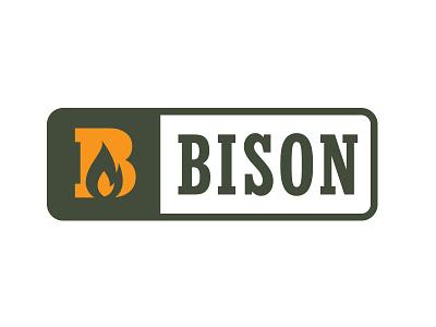 Bison Firestarter camp fire bison