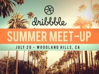Dribbble Meetup - July 20