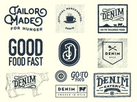 Denim Eatery - Secondary Branding Elements