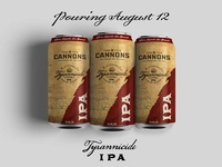 Tyrannicide IPA - Launch Graphic