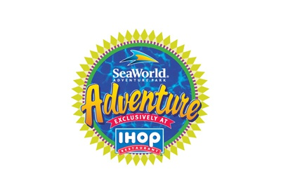 Sea World Kid's Meal program at iHop
