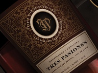 Tres Pasiones Tequila Branding