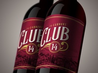 Club 14 Branding