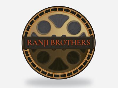 Ranji Brothers   Logo art-direction illustration branding logo