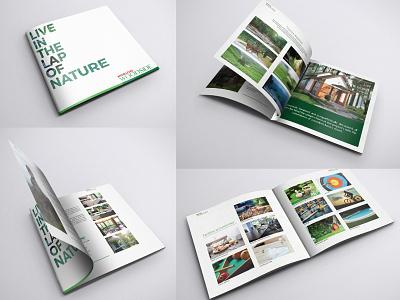 Merlon Woodside Brochure typography identity brand print brochure