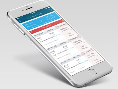Flight searching and booking App mobile app ux design uidesign