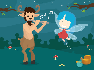 The Pixie and the Faun