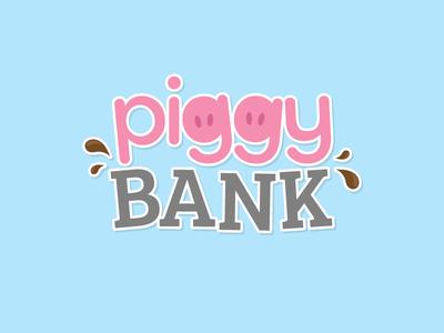 Piggy Bank Logo - Oink Bingo design room game gamble casino bingo oink logo bank piggy