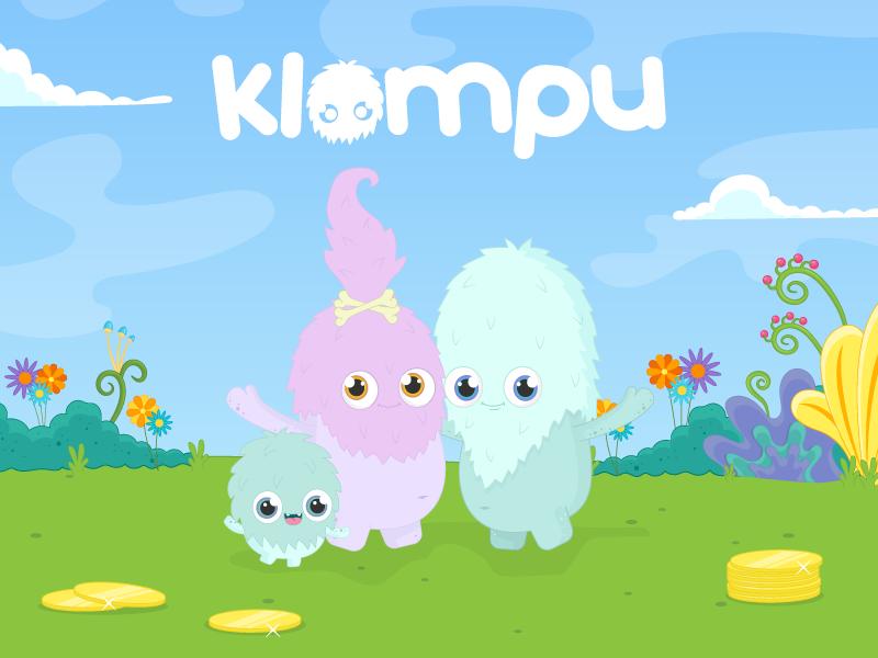Klompu  - Coming Soon fun creature soon coming website monster cute klompu