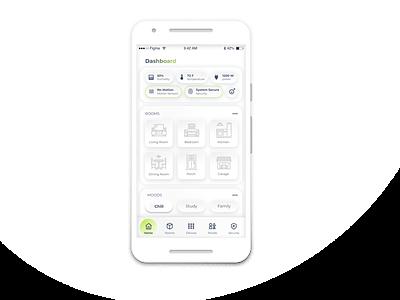 Smart Home Automation Mobile App ux ui uiux home automation smart home