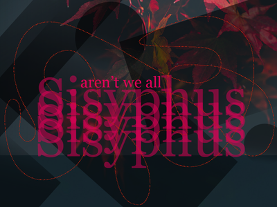 We are all Sisyphus exploration book title sisyphus book jacket