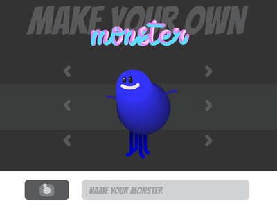 Character builder for a game character builder character ui