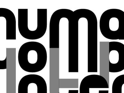 Logo Exploration for HCI greyscale logo exploration