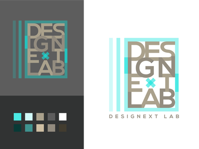 DesigNext Lab Logo Exploration 02 type typography adobe illustrator graphic design branding exploration logo
