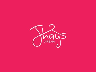 Jhays arena logo logo design fashion branding logo
