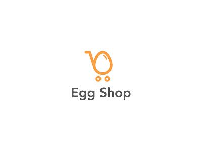 Egg Shop egg logo design branding logo