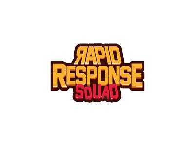 Rapid response Squad Logo game logo logo