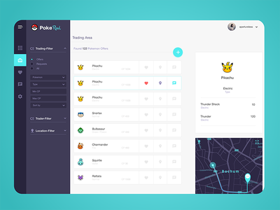 PokeRoad Trading trading dashboard pokemon