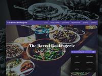 The Barrel Boulangerie Website
